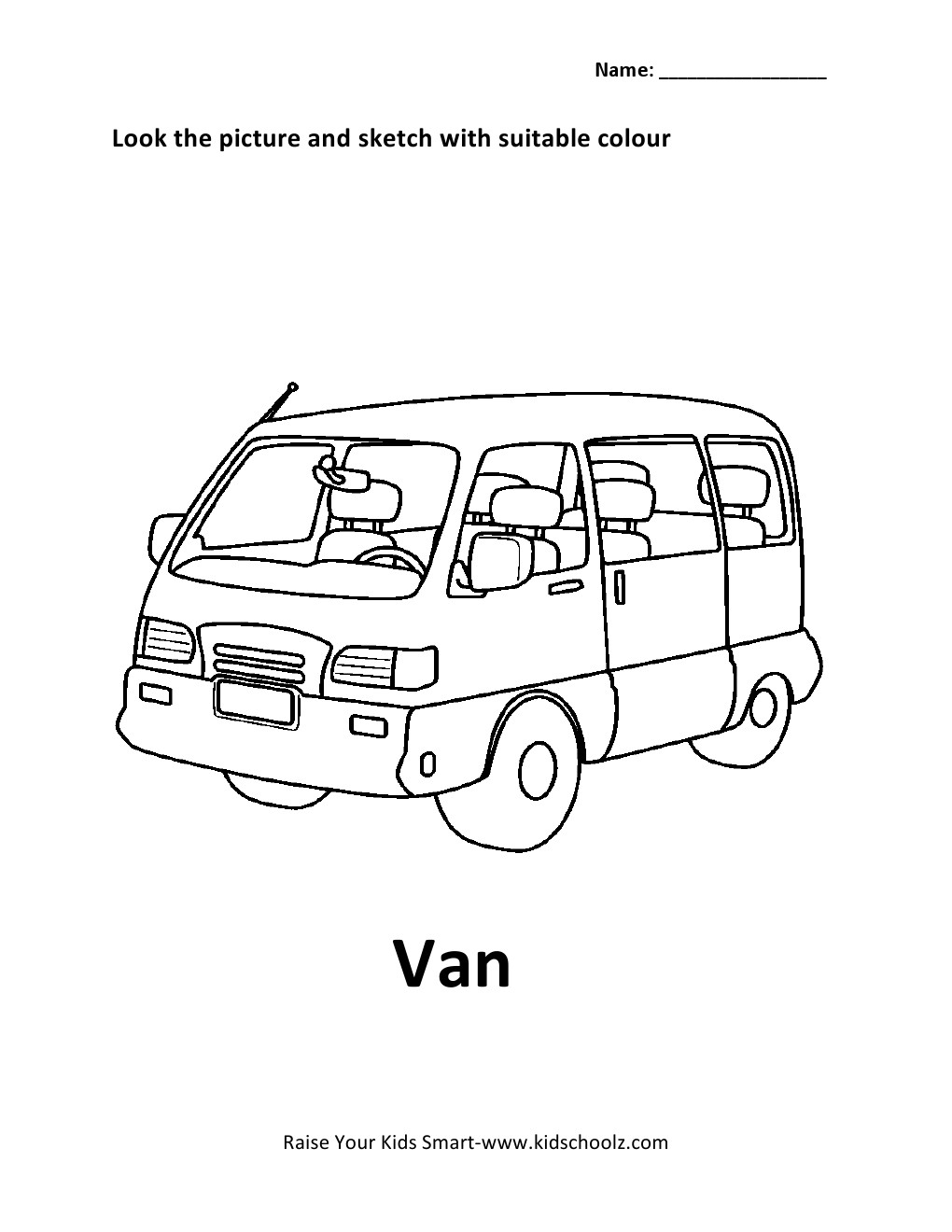 colouring pages van : Leave A Reply Cancel Reply