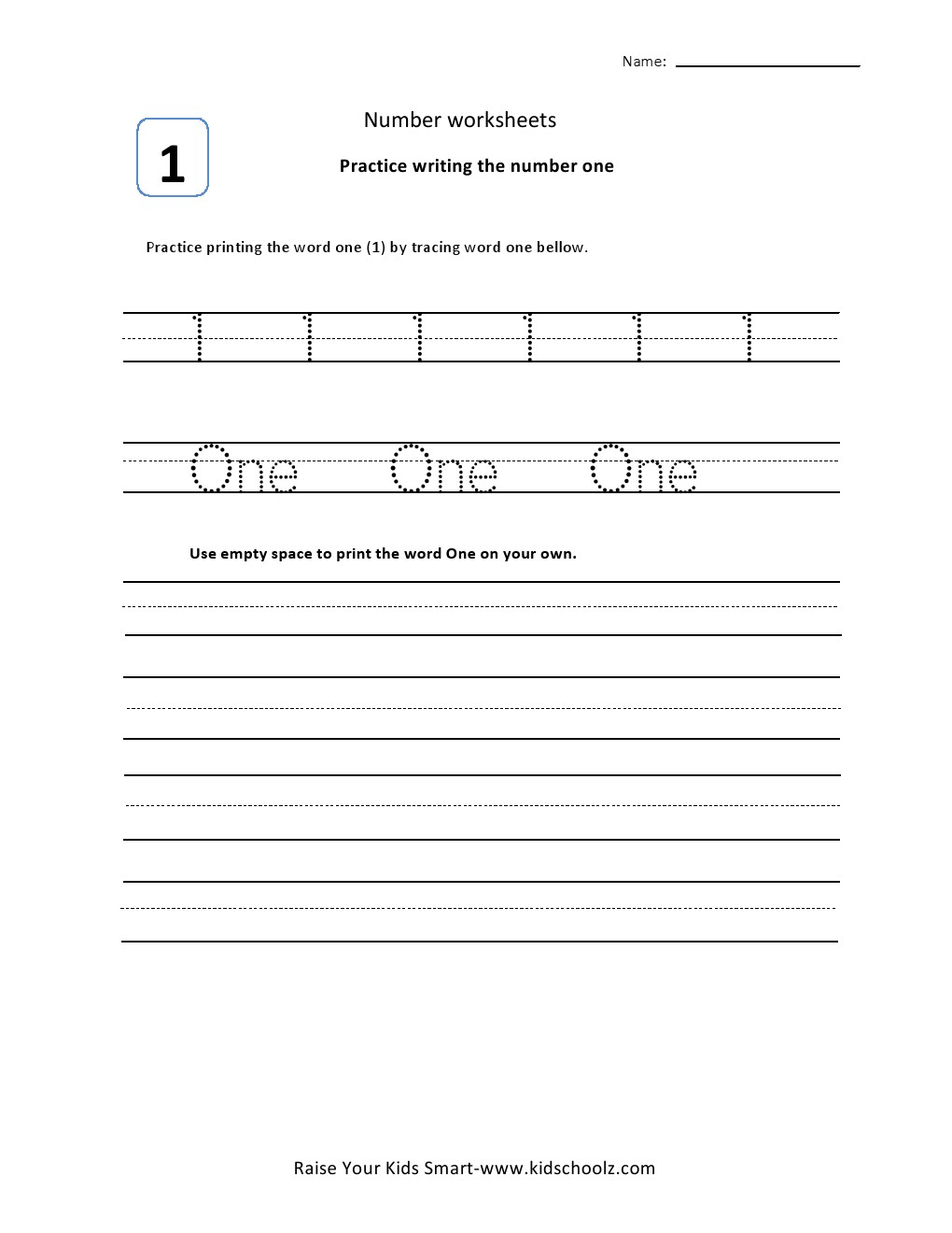 Worksheets Number Tracing – Quantum Number Worksheet