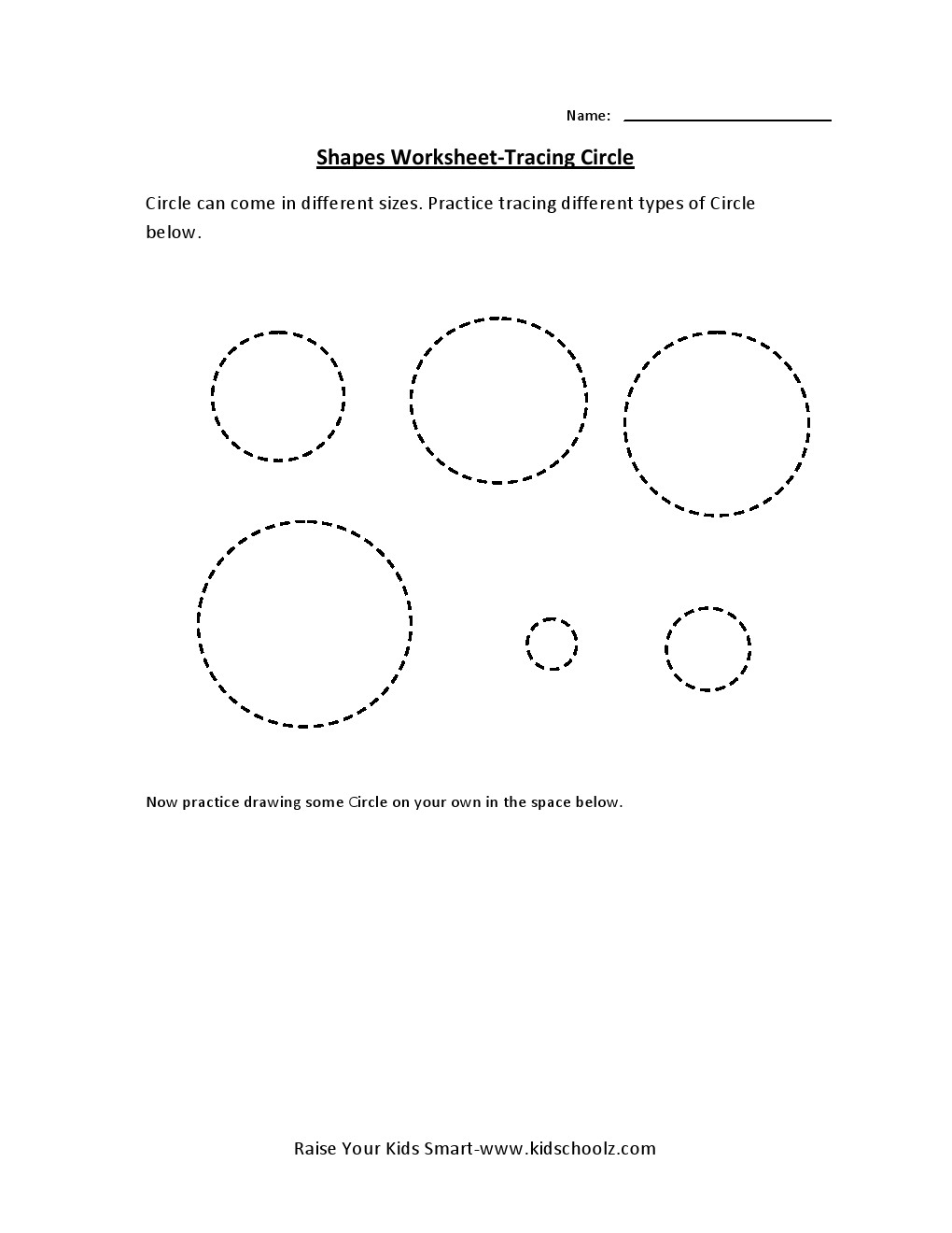 Uncategorized Circle Worksheet tracing worksheets circle kidschoolz leave a reply cancel reply