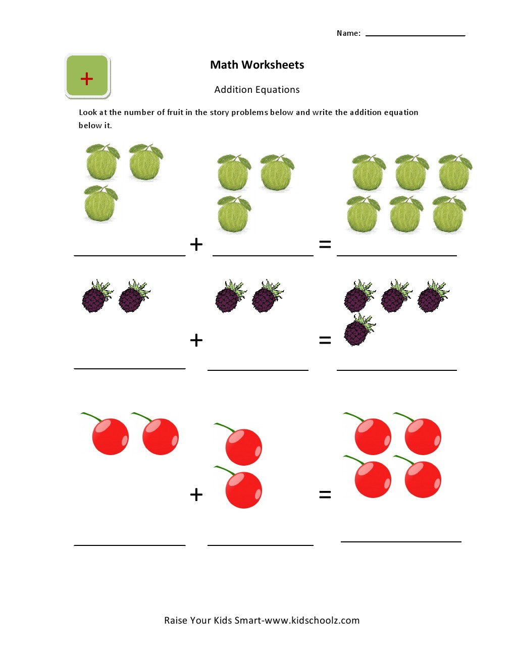 Addition Math Worksheets For UKG Kids – Ukg Maths Worksheets
