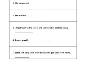 Grade 5 - Types of sentence Worksheets - Kidschoolz