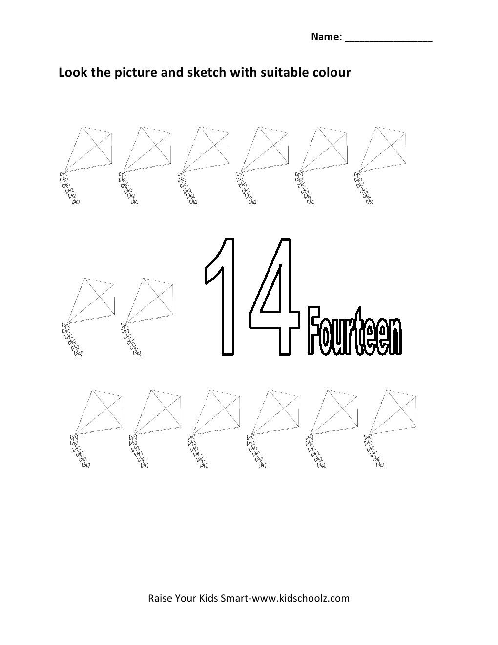 worksheet Number 14 Worksheets Luizah Worksheet And Essay Site – Number 14 Worksheets