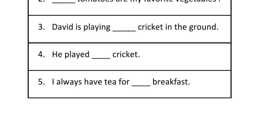 Printables Worksheet On Articles For Grade 2 grade 2 articles worksheet 3 3