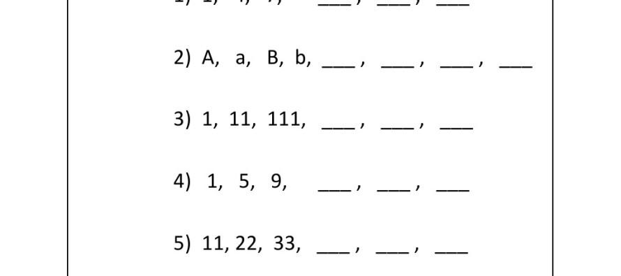 Free Worksheets Math Patterns Worksheets High School Free – Grade 5 Math Patterns Worksheets