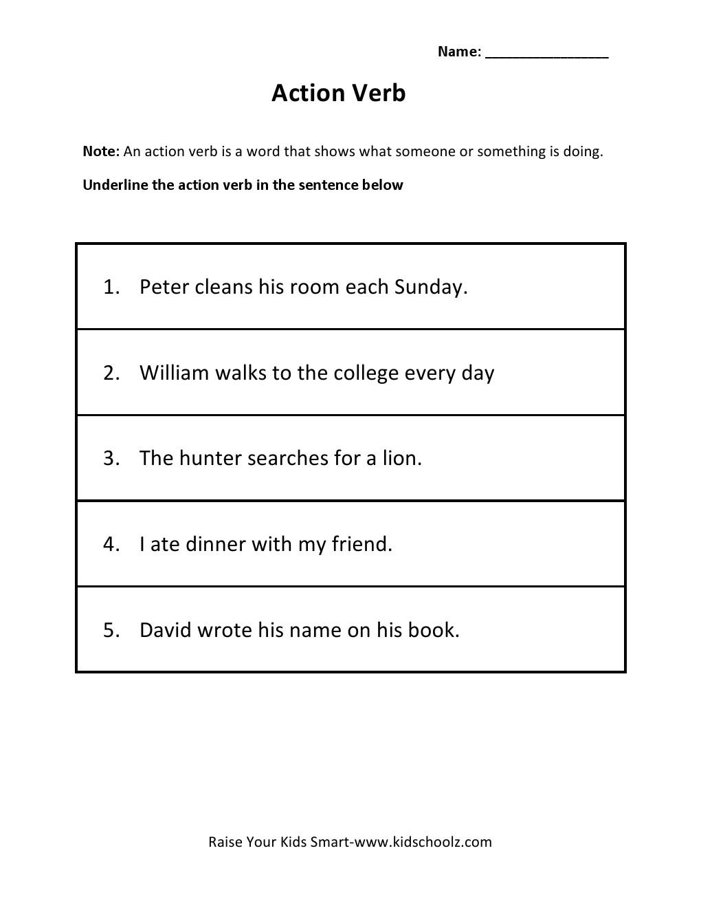 action words worksheets for grade worksheet pages grade 2 action verb worksheet 3 kidzkidz