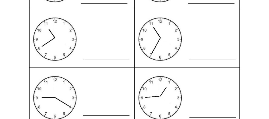 Time Worksheets Time Worksheets For Grade 2 Preschool and – Time Worksheets for Grade 2