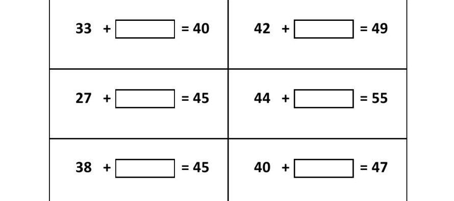Addition Worksheets : addition worksheets fill in the missing ...