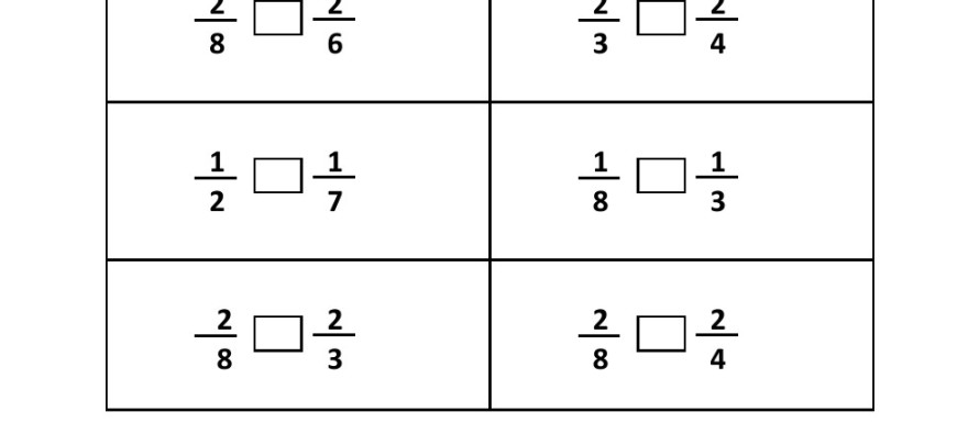 Worksheet On Fractions For Grade 2 fraction worksheets 4th grade – Worksheet on Fractions for Grade 2