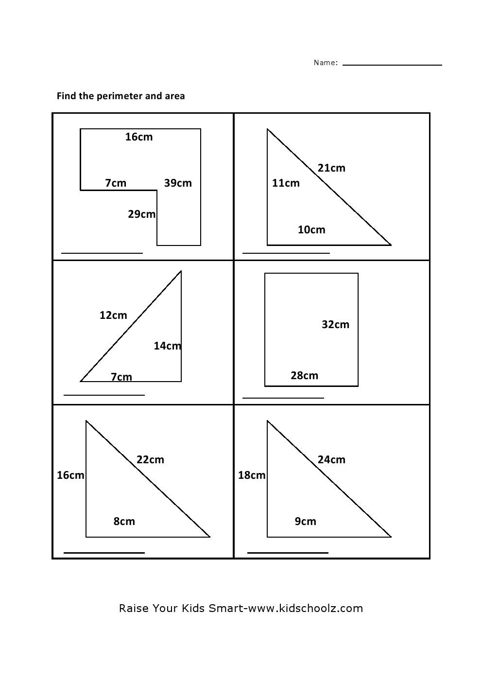 worksheet Perimeter Worksheet grade 5 perimeter area worksheet 2 worksheet