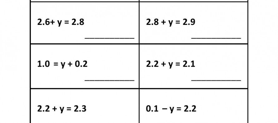 math worksheet : grade 5  pre algebra decimal addition worksheet 4  : Decimal Addition Worksheet