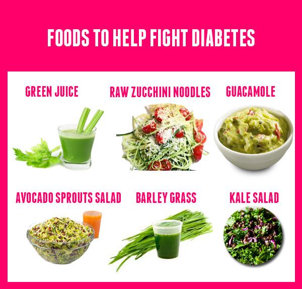 Foods Help To Fight Diabetes - Kidschoolz