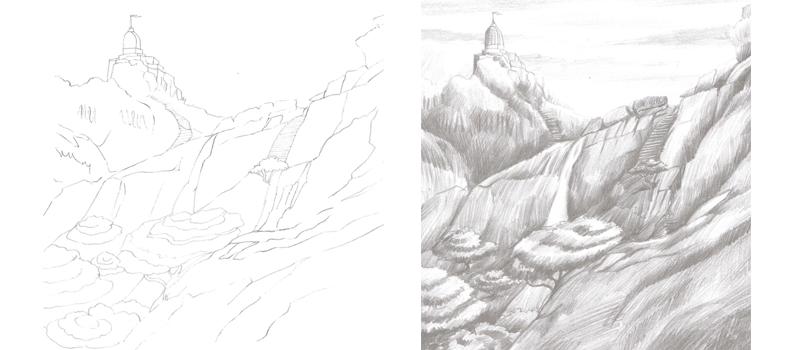 Pencil Sketch Worksheet