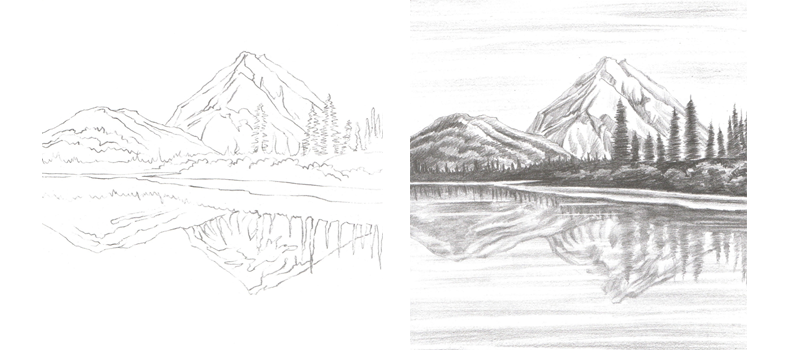 Pencil Sketch Worksheet