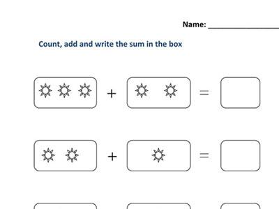 Ukg Maths Activity Worksheets Maths Printable Woksheets